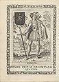 Enno II, vierde graaf van Oost-Friesland Enno II. Comes Frisiae Orientalis Quartus (titel op object) Koningen en Potestaten van Friesland (serietitel) Frisia, sev, de Viris (serietitel op object), RP-P-OB-50.606.jpg
