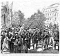 Entrada de las tropas vencedoras de La Seo de Urgel conduciendo a los prisioneros carlistas, el 4 del actual.jpg