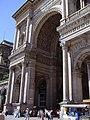 Entrance Galleria Vittorio Emanuele - panoramio.jpg
