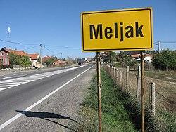 meljak beograd mapa Meljak   Wikipedia meljak beograd mapa