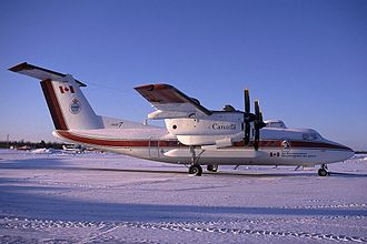 Environment and Climate Change Canada - Ice Reconnaissance de Havilland Canada Dash 7 at Carp Airport
