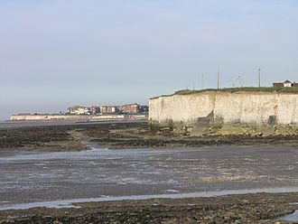 Westgate-on-Sea - A view of Westgate-on-Sea from the neighbouring village of Birchington-on-Sea