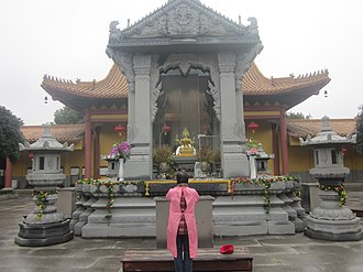 Phra Phrom - Image: Erawan Shrine of Xixin Chan Temple, picture 3