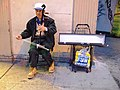 Erhu player at Columbus st, San Francisco.jpg