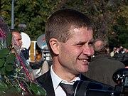 Erik Solheim som nyutnevnt utviklingsminister