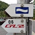 Escapardenne Lee Trail & CFL balise directionnelle Kautenbach (101).jpg