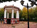 Escenario del parque en Pedro Muñoz.JPG
