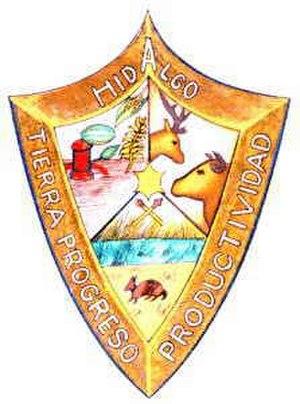 Hidalgo, Coahuila - Image: Escudo Hidalgo Coahuila