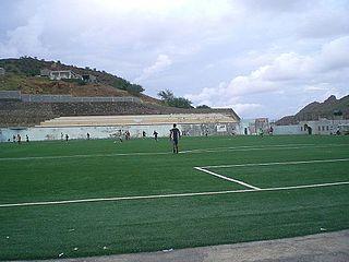 Estádio João de Deus Lopes da Silva Sports stadium in São Nicolau, Cape Verde