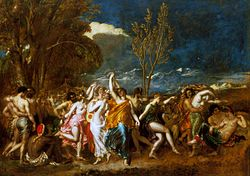 William Etty: The World Before the Flood