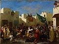 Eugène Delacroix - The Fanatics of Tangier - WGA06195.jpg
