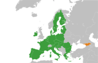 European Union Georgia Locator 2013