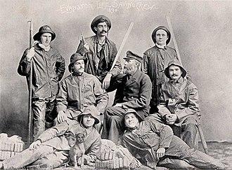 Lifesaving - Evanston Life Saving Crew (Evanston, Illinois), 1894