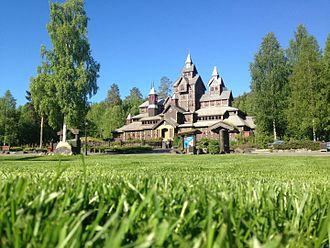 Hunderfossen Familiepark - Eventyrslottet (The Fairy Tale castle) in Hunderfossen