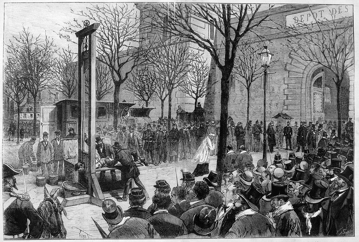 Frankreich Todesstrafe