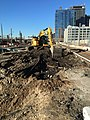 Excavation for the future Mid-day Storage Yard in Long Island City, Queens. When completed the yard will allow LIRR to store upwards of 300 train cars during the day. (CQ033, 3-06-2018) (25896643457).jpg