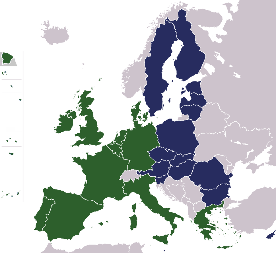 Expansion of the European Union 1995-2007