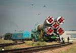 Expedition 48 Soyuz Rollout (NHQ201607040122).jpg
