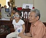 Eye screening for kindergarten children in Quoc Oai district of Hanoi (14307571221).jpg