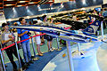 F-CK-1C&D Fighter Model Display at AIDC Booth 20150815b.jpg