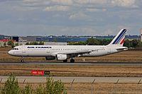 F-GTAP - A321 - Air France