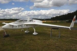 Rutan VariEze - on ground