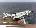 F3H-2M of VF-61 takes off from USS FD Roosevelt (CVA-42) in 1957.jpg