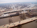 FEMA - 40307 - Aerial of the Red River of the North in Fargo, North Dakota.jpg