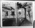FIRST FLOOR- SOUTHWEST CORNER, LOOKING WEST - Phoenix Mill, North bank of Still River, Phoenixville, Windham County, CT HAER CONN,8-PHOE,1-9.tif