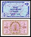 FRG-2a-Allied West Germany-1 Deutsche Mark (1948).jpg