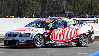Fabian Coulthard - Fabian Coulthard driving for Brad Jones Racing in 2012