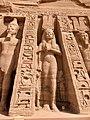 Facade Detail, Temple of Hathor and Nefertari, Abu Simbel, AG, EGY (48016649331).jpg