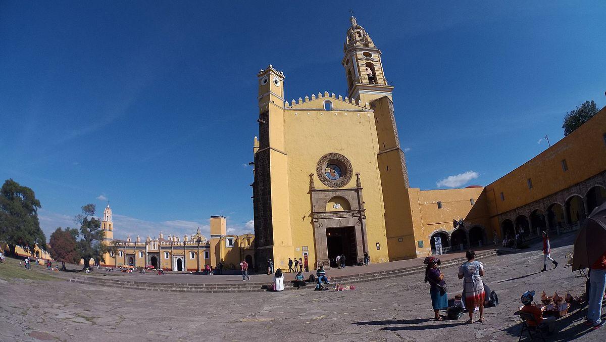 Convento de San Gabriel Arcángel, una de las iglesias más bonitas de Cholula