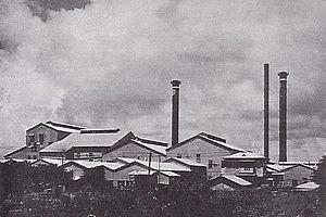 Nan'yō Kōhatsu - Factory of Nanyō Kōhatsu in Chalan Kanoa, Saipan