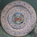 Faenza o cafaggiolo, piatto con stemma dell'alleanza scheurl-fütterer, 1532.JPG