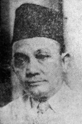 Muhammadiyah - Image: Fakih Usman Suara Rakyat 2 Apr 1952 p 1