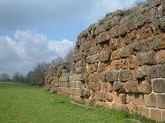 Falerii - Falerii Novi - remains of the city wall