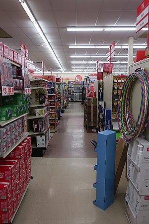Family Dollar - Interior of a Family Dollar in Gillette, Wyoming
