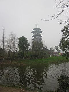 Yanghu subdistrict in Hunan, China