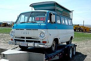 Dodge A100 - Image: Fargo Camper Van