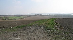 Inveravon - Farm track from the site of the Antonine Wall