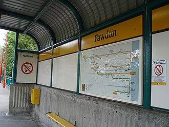 Fawdon Metro station - Image: Fawdon Metro station