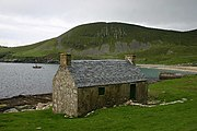 The Feather Store, where fulmar and gannet feathers were kept, and sold to pay the rent