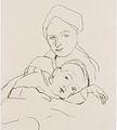 Felix Esterl - Frau des Künstlers mit Sohn - ca1927.jpeg