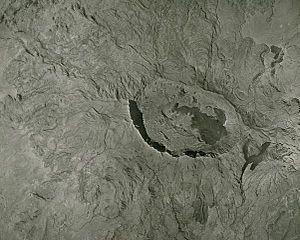 Mount Fentale - Image: Fentale aerial