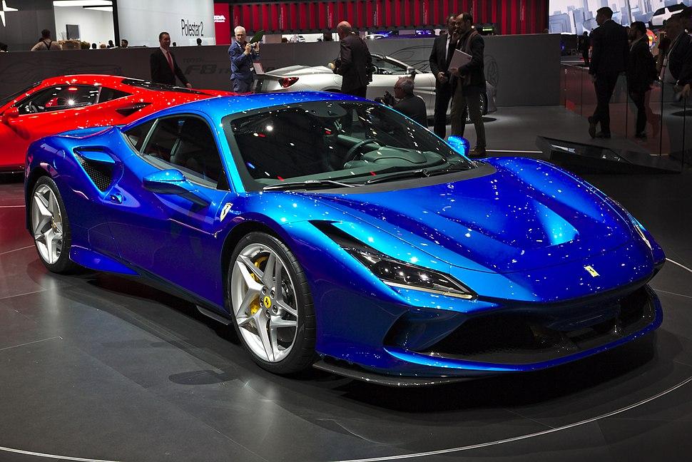 Ferrari F8 Tributo Genf 2019 1Y7A5667