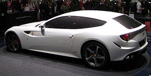 Ferrari FF - Ferrari FF Concept presented at 2011 Geneva Motor Show