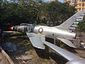 Fighter plane model, Tamkang University.jpg