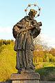 Figurenbildstock hl Johannes Nepomuk in Thaua.jpg