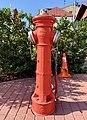 Fire hydrant, Plac Stefana Czarnieckiego, Warka, Poland, 2019.jpg